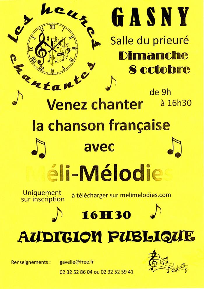 affiches les heures chantantes156