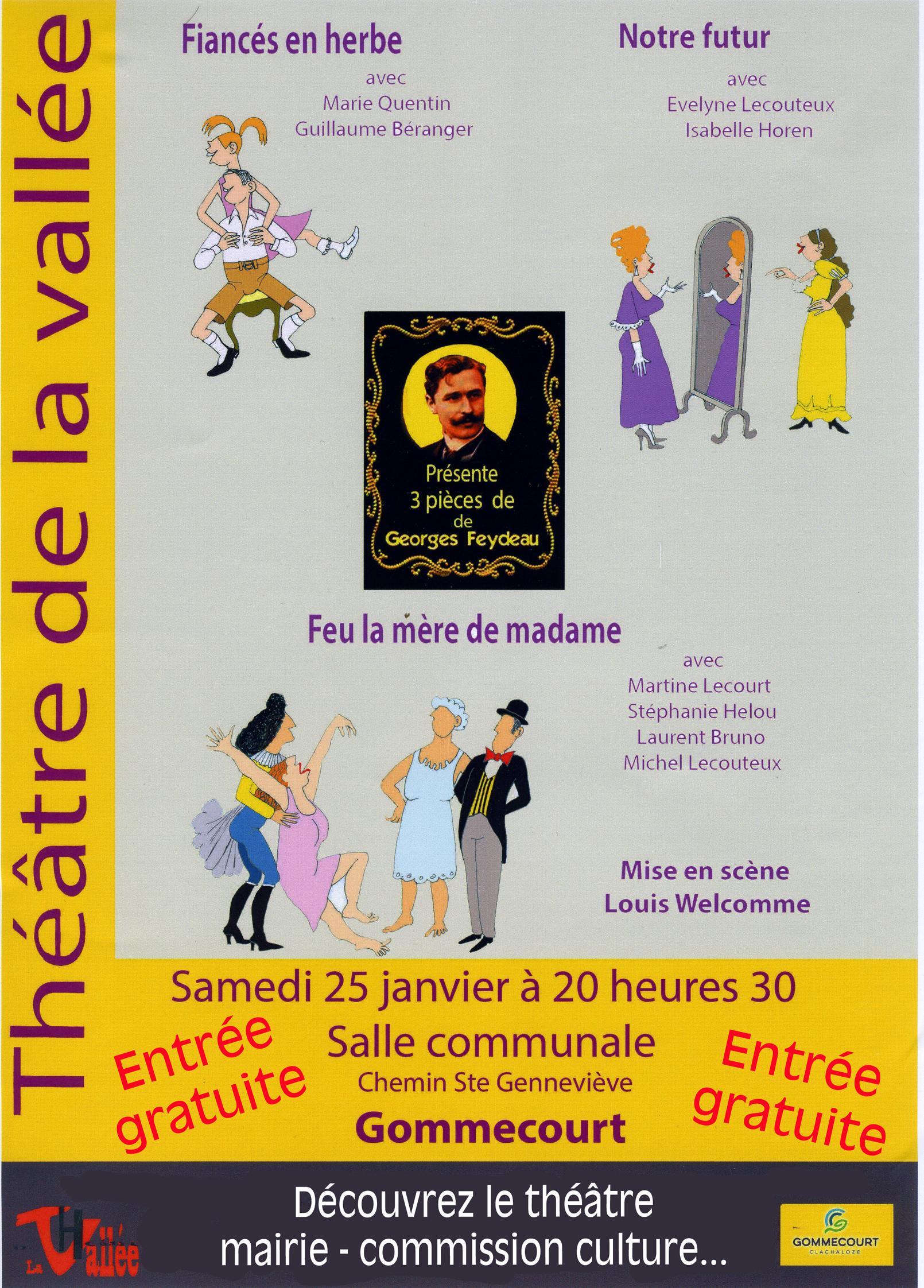 THEATRE DE LA VALLEE FEYDEAU